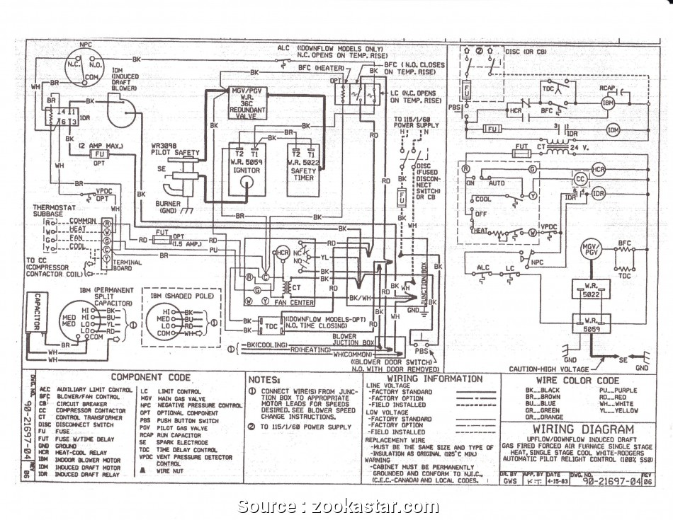 [DX_4335] Goodman Furnace Wiring Diagram For Thermostat