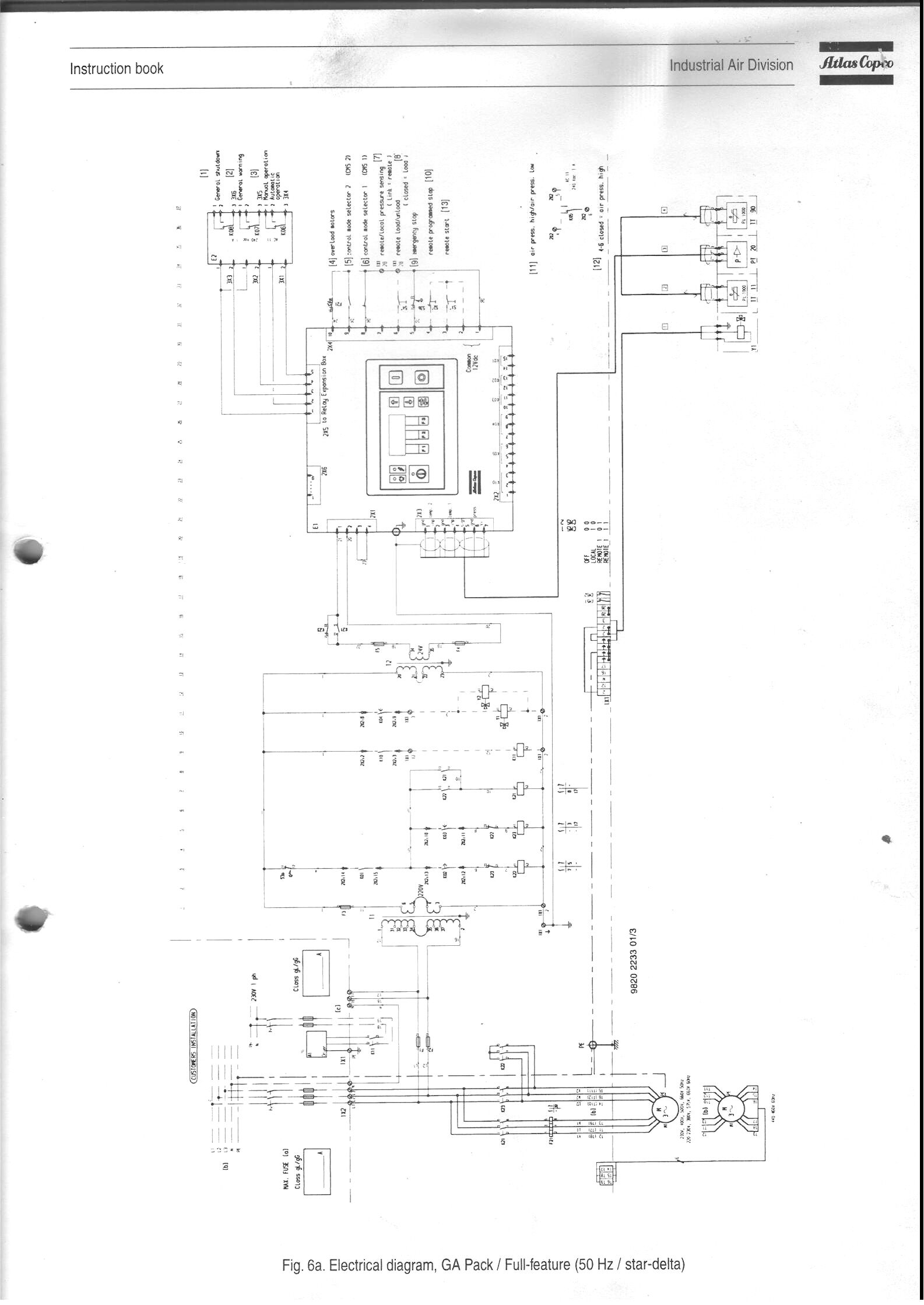 [AH_4618] Atlas Copco Wiring Schematic Wiring Diagram