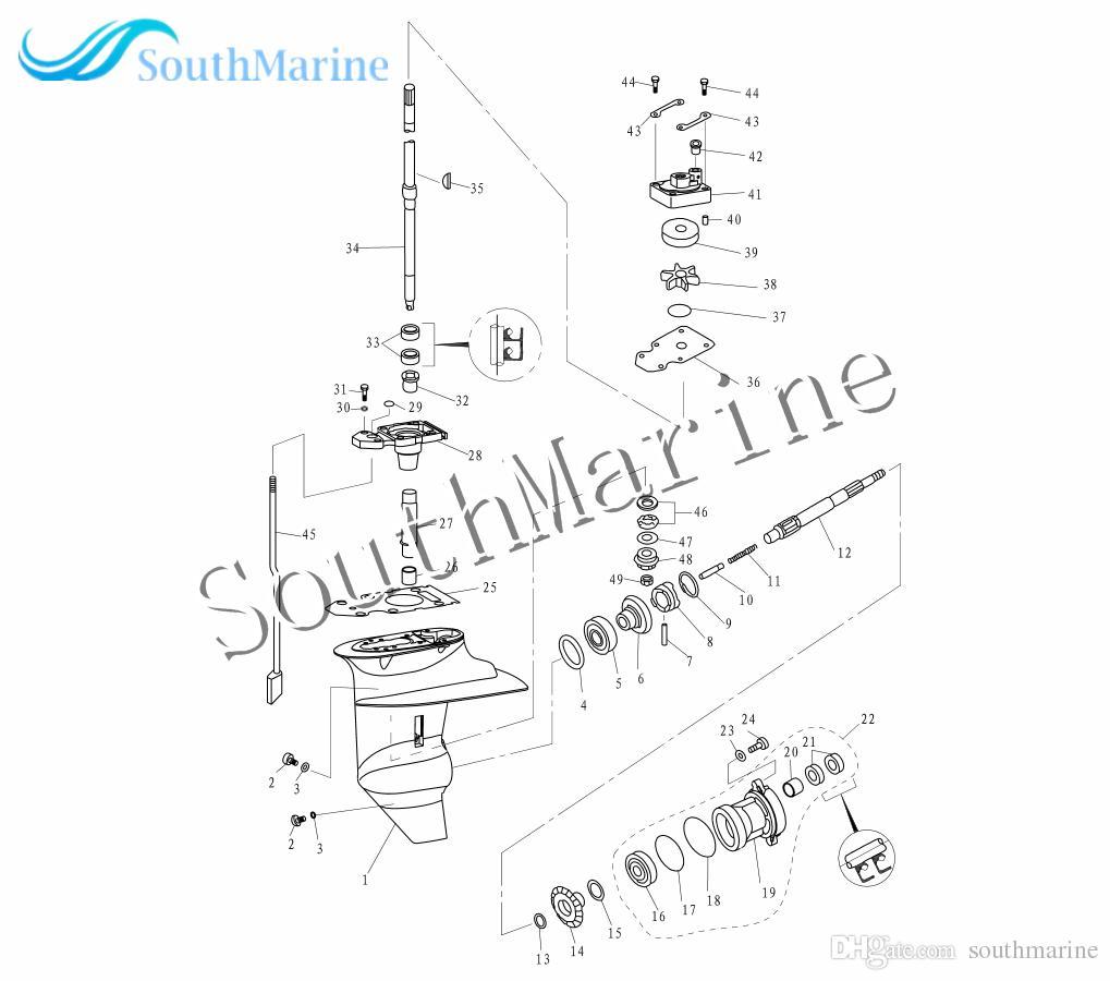 [RC_4195] Yamaha Outboard Engine Diagram Free Diagram