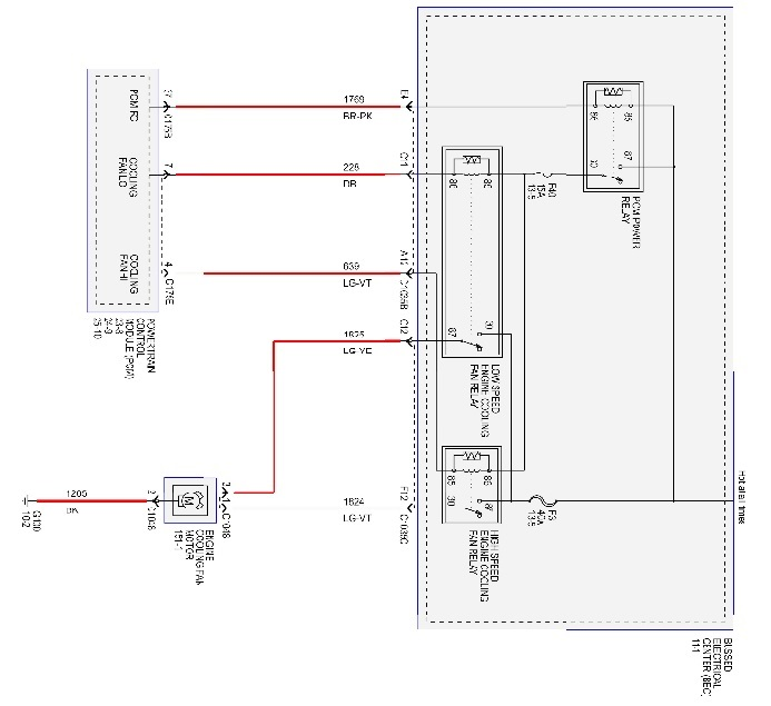 Vy Commodore Cooling Fan Wiring Diagram