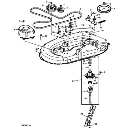 [FE_4901] John Deere Z445 Parts Diagram Wiring Diagram
