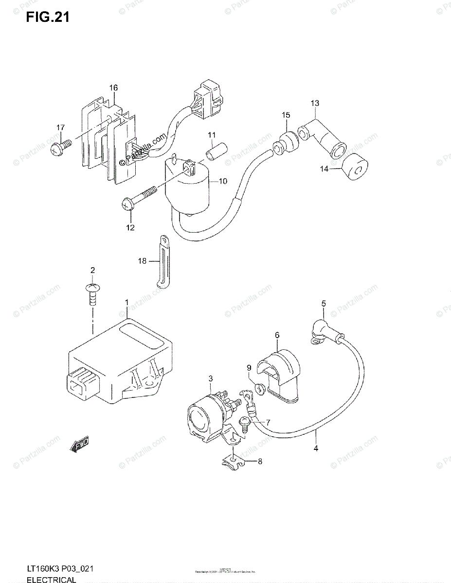 2000 Suzuki Lt F250 Quadrunner Wiring Diagram Collection
