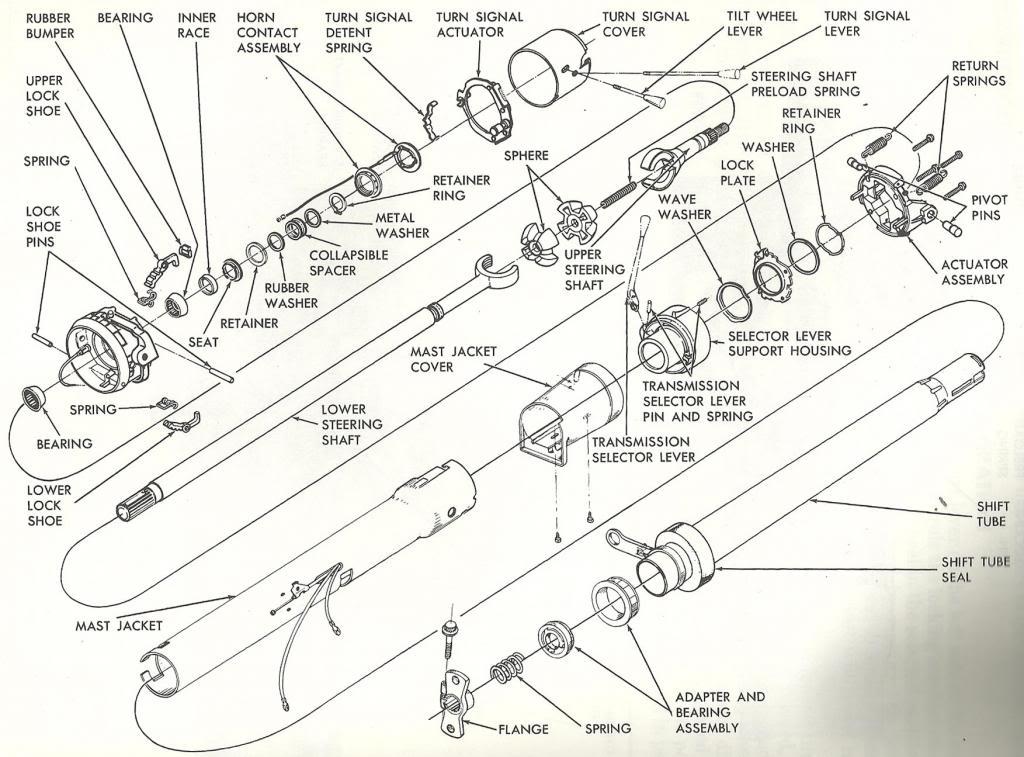 [DIAGRAM] 1969 El Camino Steering Column Diagram Wiring
