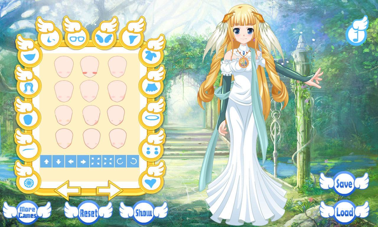 dress up angel avatar