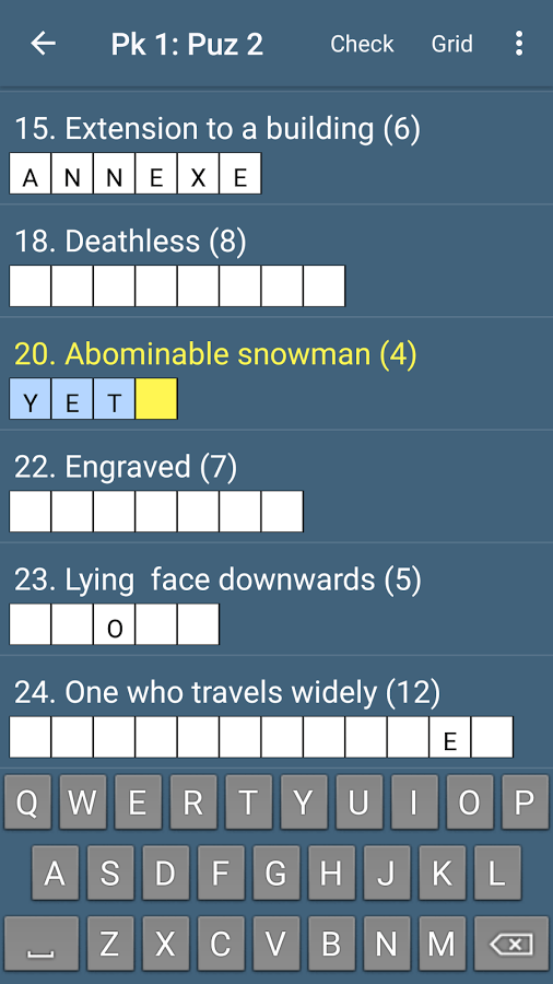 Best Quick Crossword App Ranking and Store Data | App Annie