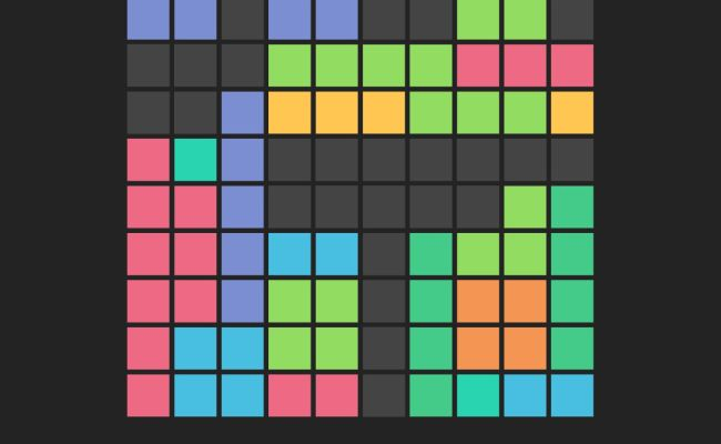 Free To Fit Color Block Puzzle Logic Stack Dots App