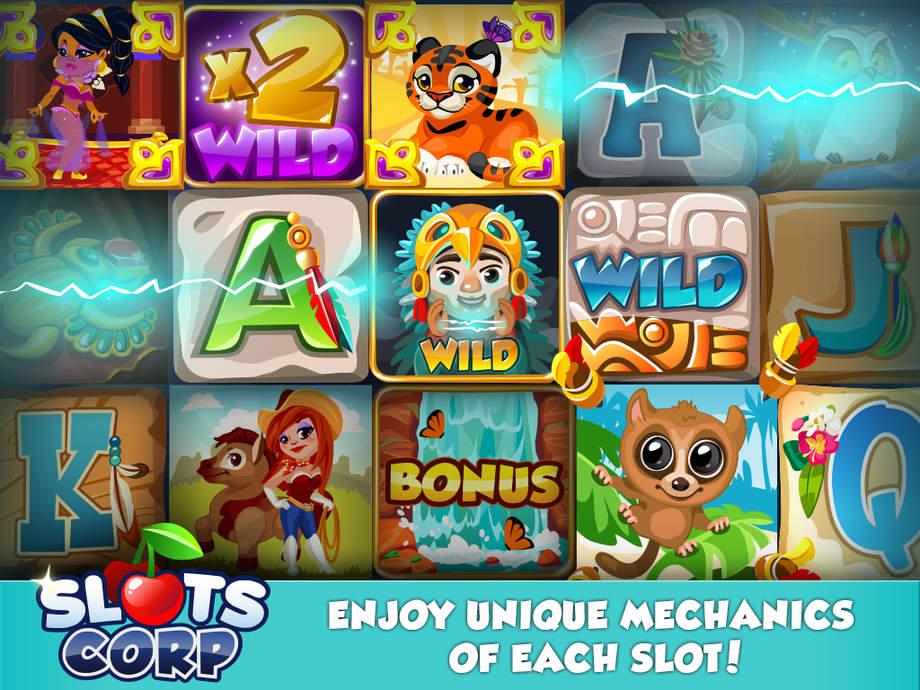 Slots Corp  Fast Slot Machine With Big Bonus App Ranking