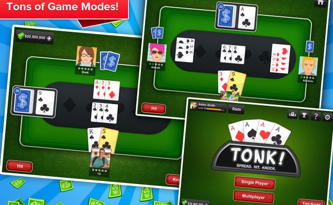 Tonk Multiplayer Card Game Tunk Classic Free App Ranking