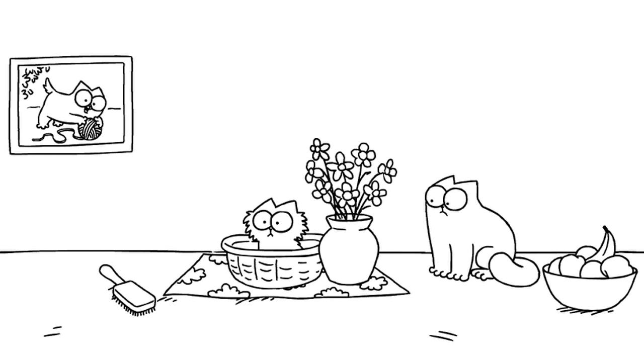 Simon's Cat: Pawtrait