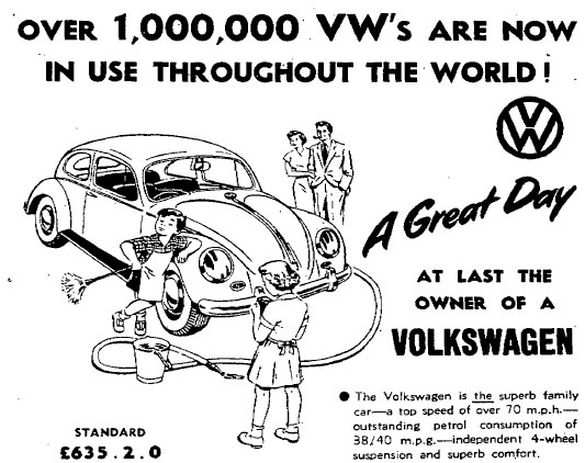Volkswagen at 75: Classic print adverts for VW's