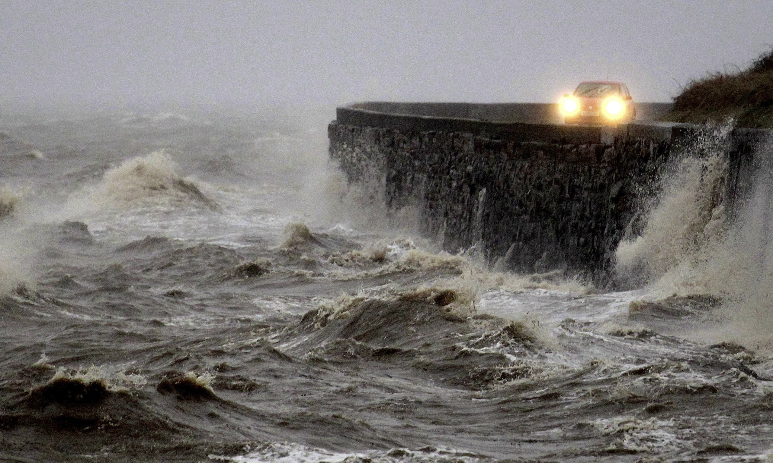 Weather Uk S Worst Winter Storms For Two Decades Set To