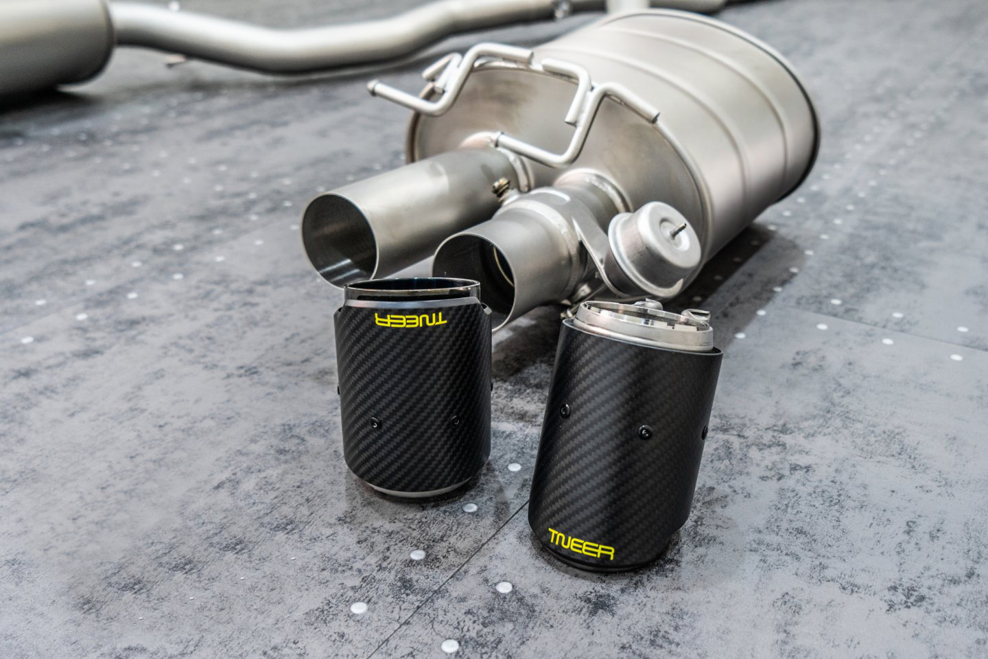 tneer exhaust systems for bmw x m e60