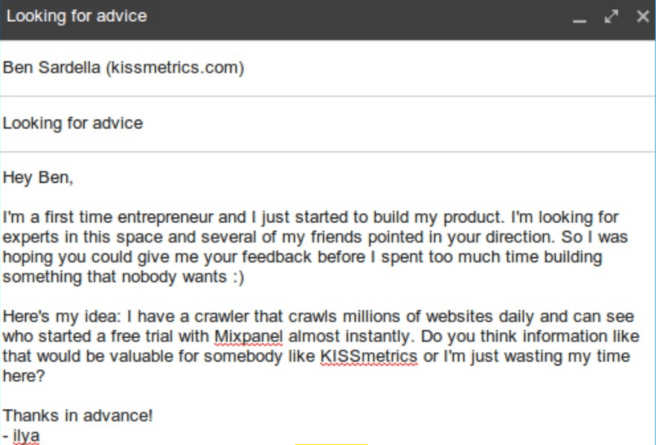 How Cold Emails Led This 29 Year Old To Get Funded By Mark