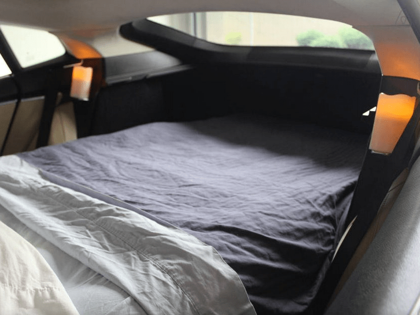 You Can Sleep In The Trunk Of A Tesla For 85 A Night On