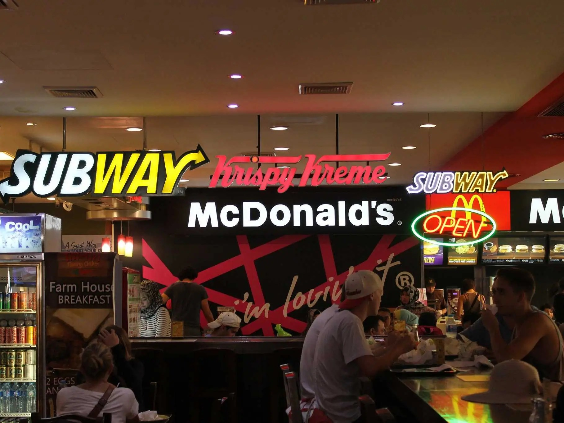 Best Fast Food Chains World