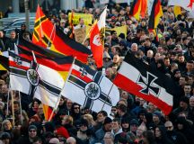 Anti-immigration groups are staging a massive protest in ...