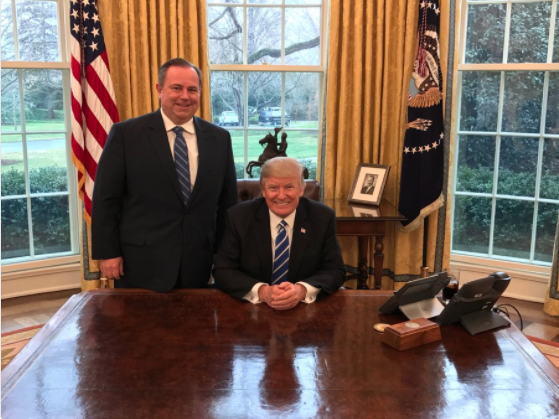Chris Ruddy and Trump