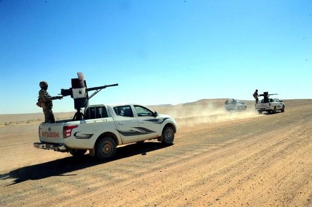 Syria Badia militias