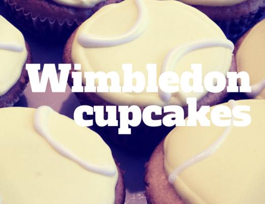 Wimbledon cupcakes - the gingerbread house