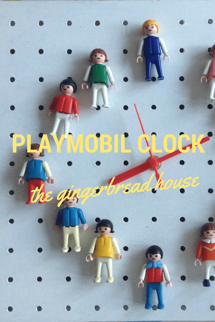 PLAYMOBIL CLOCK - the gingerbread house