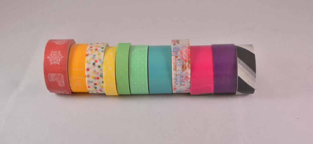 rolls of washi tape