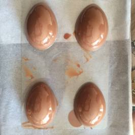 making chocolate easter eggs 5