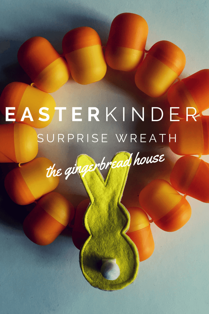 Easter KINDER Surprise wreath