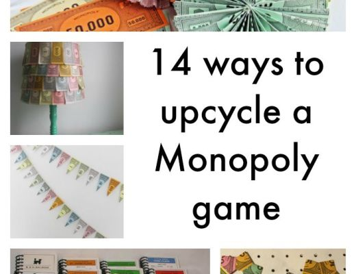 14 ways to upcycle a Monopoly game