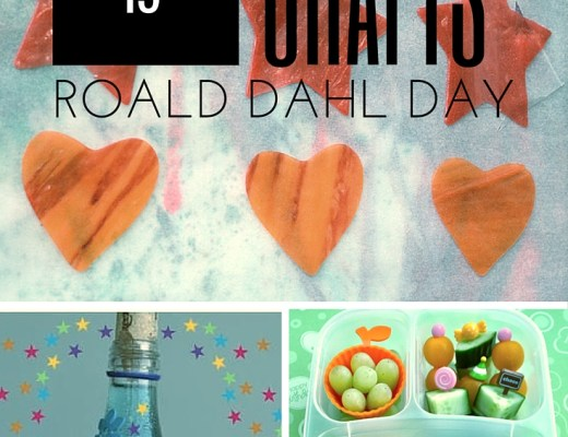 15 crafts for Roald Dahl Day
