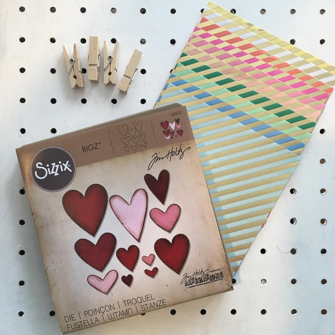 Easy heart shaped wooden pegs