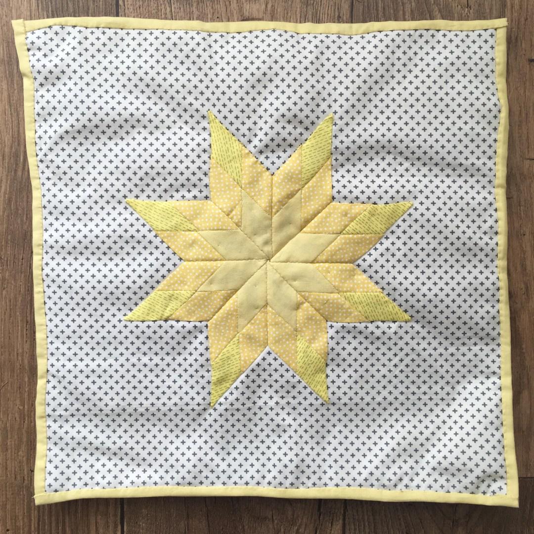 Mollie Makes Starburst Sampler patchwork