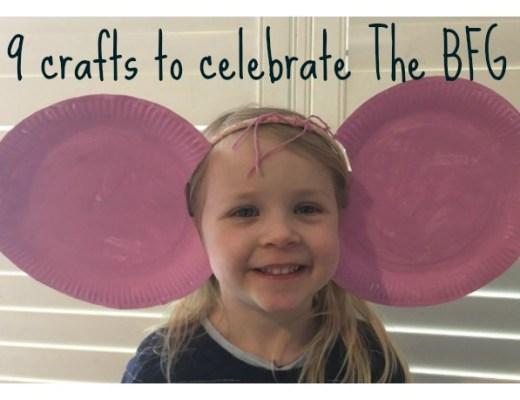 9 crafts to celebrate The BFG
