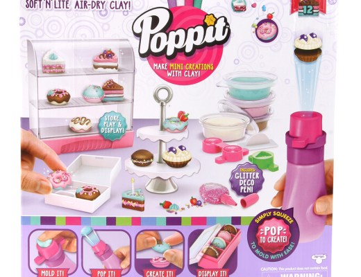 POPPIT POP 'N' DISPLAY BAKERY PLAYSET