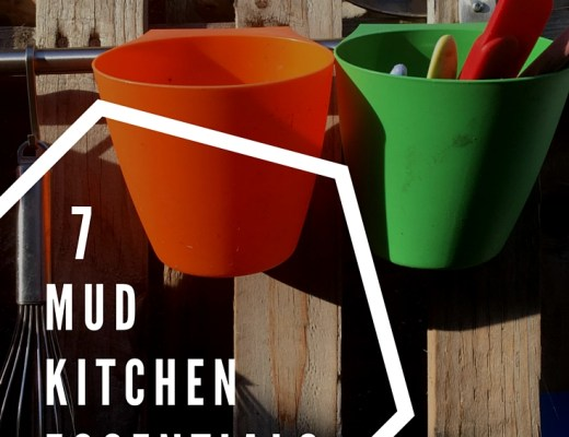 7 mud kitchen essentials
