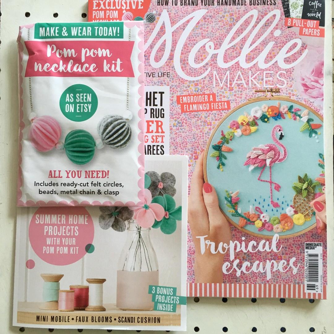 Mollie Makes Pom Pom Necklace Kit