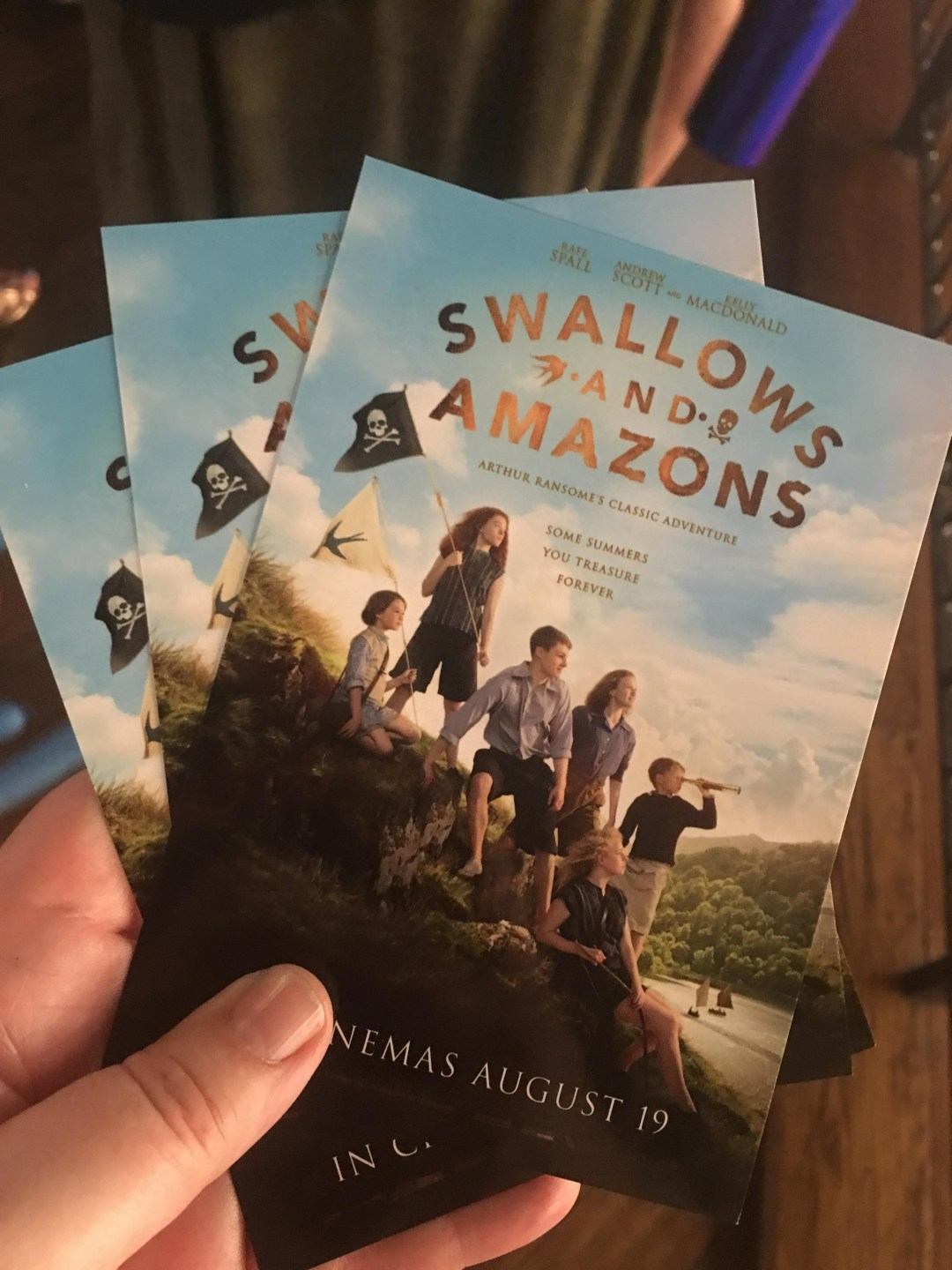 Swallows and Amazons London tickets