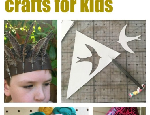 10 Swallows and Amazons crafts for kids