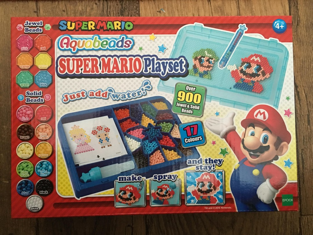 Super Mario aquabeads playset