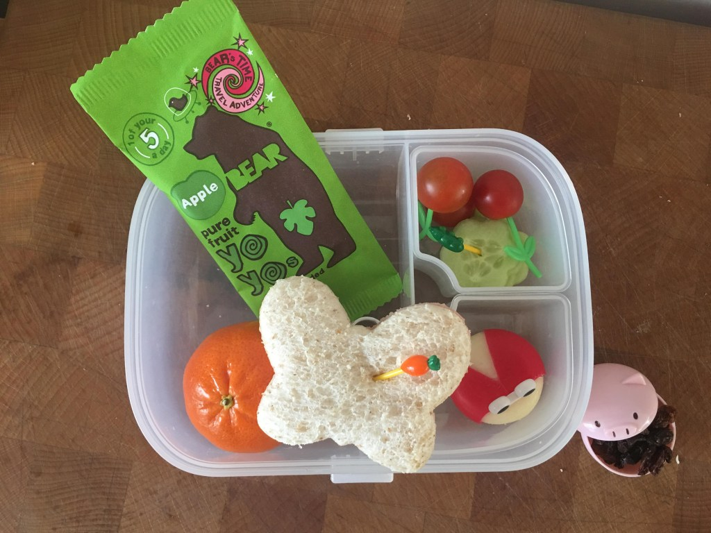 balanced packed lunch