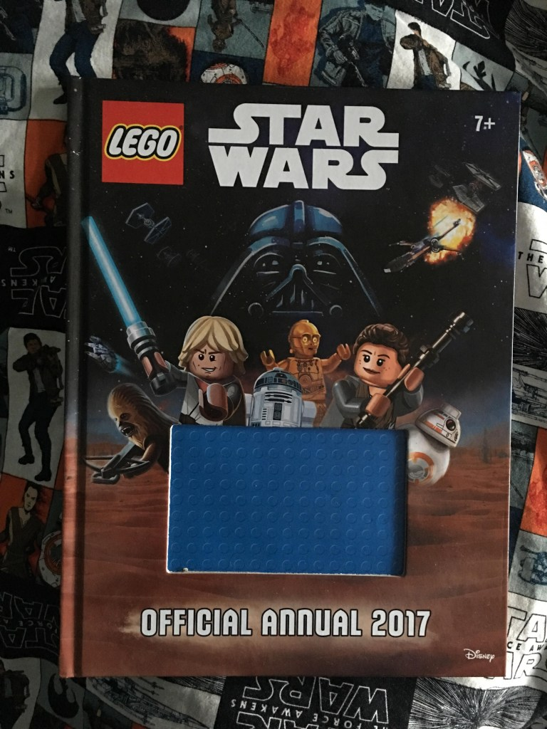 The Official Lego Star Wars 2017 Annual