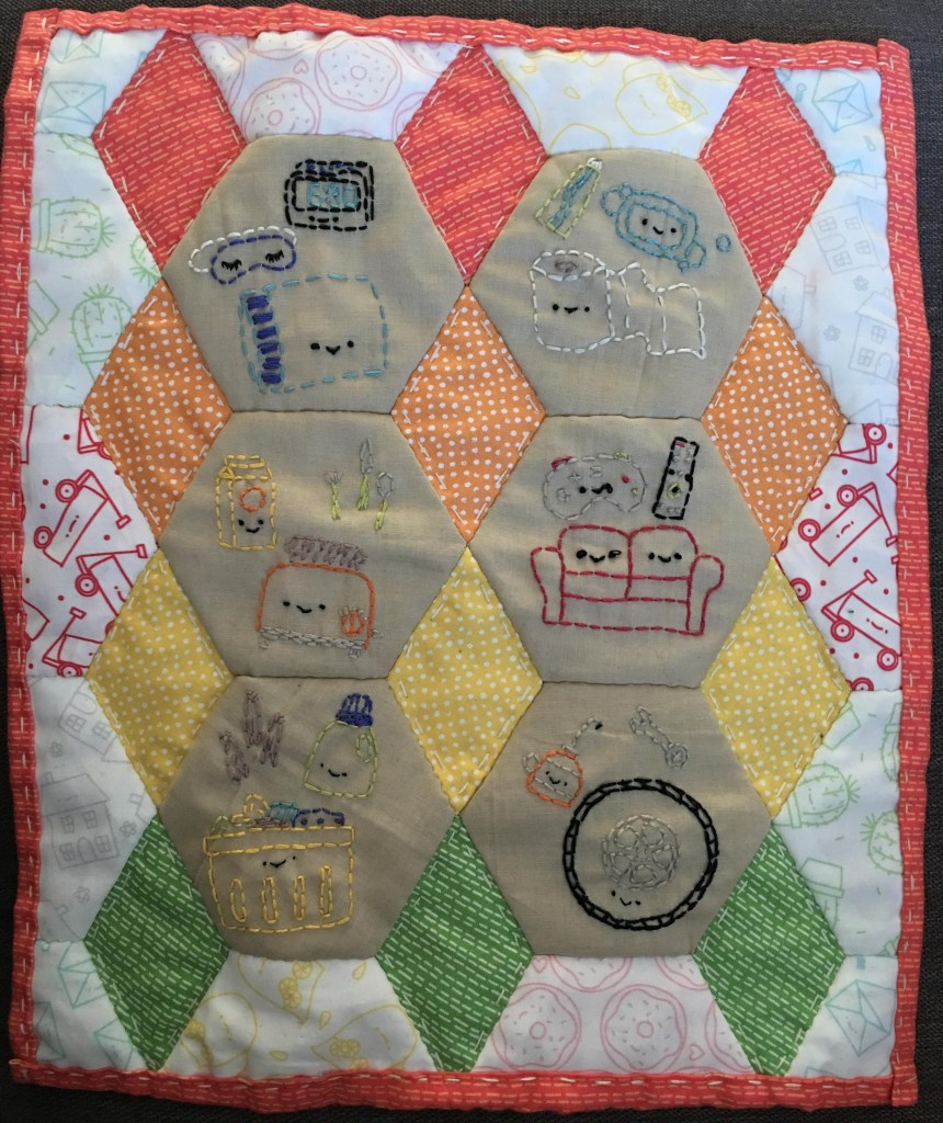 Wild Olive mini quilt - the gingerbread house blog