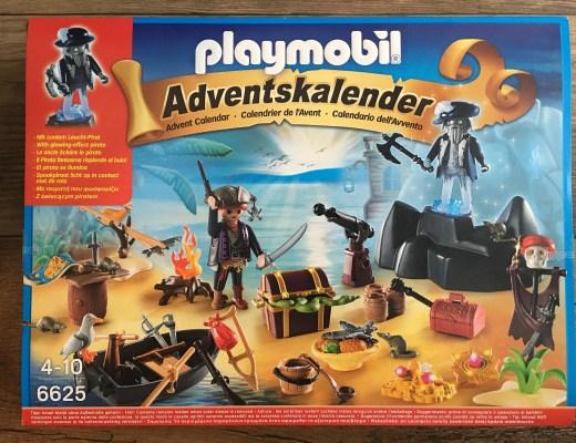 Playmobil Advent Calendar {Pirate Treasure Island}
