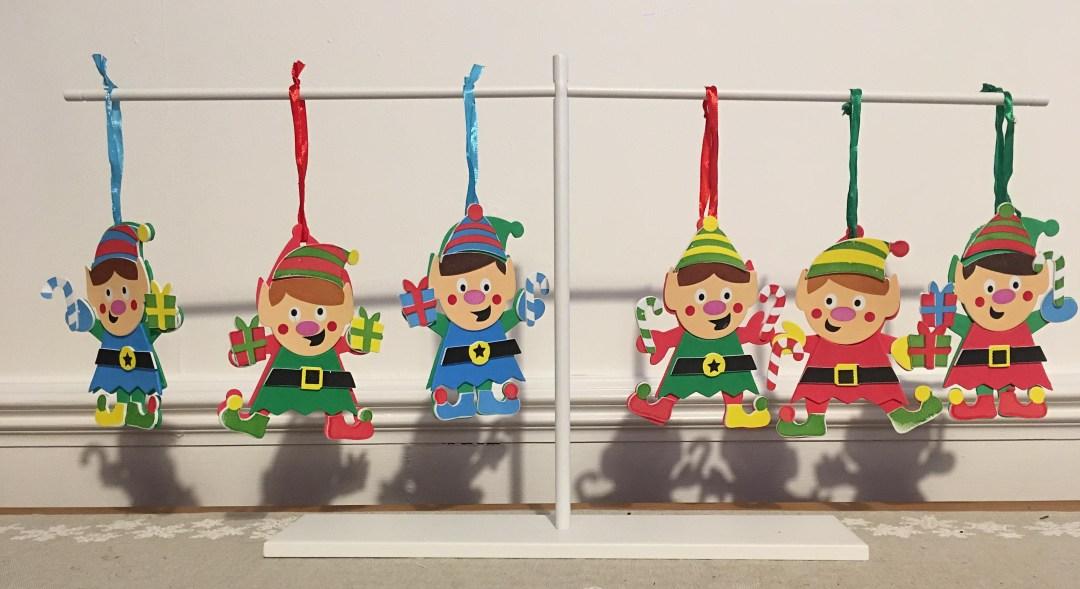 Easy Elf craft for kids