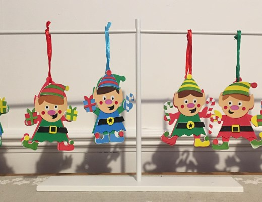 Easy Elf craft for kids