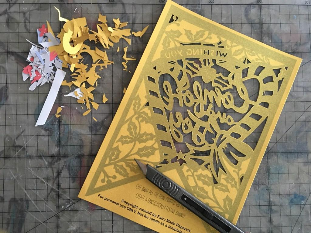 paper cutting supplies