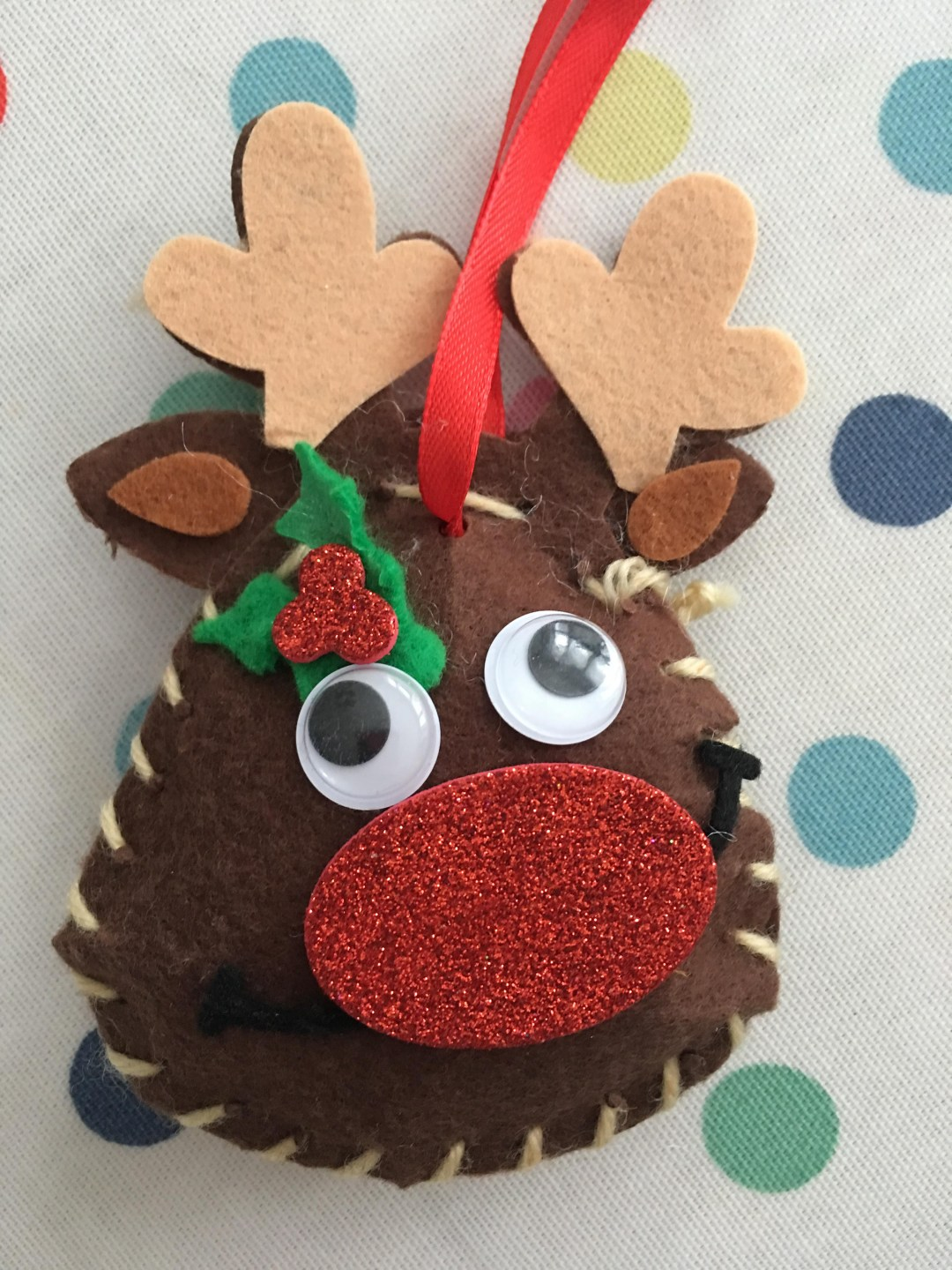 Rudolph Reindeer Decoration Sewing Kits