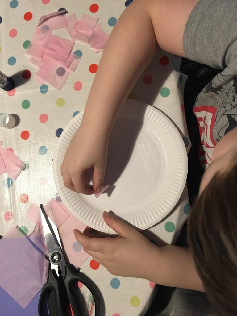 Paper plate Nutcracker craft