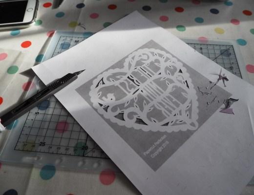 papercutting handmade gifts