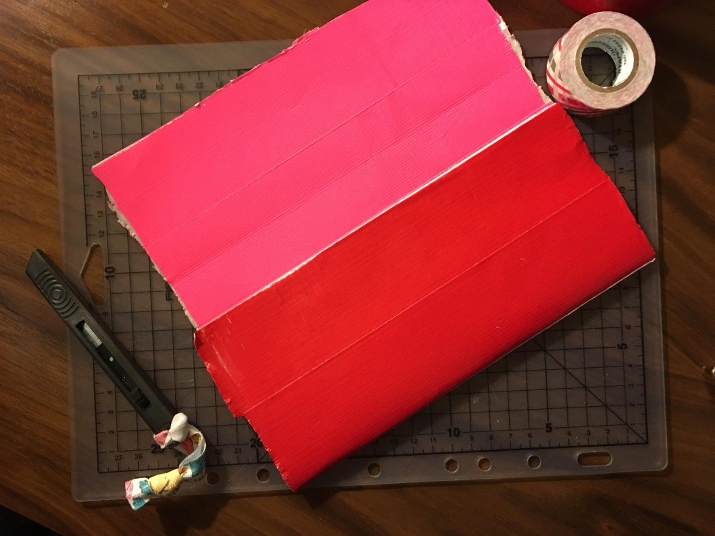 how to make a Duck Tape sheet