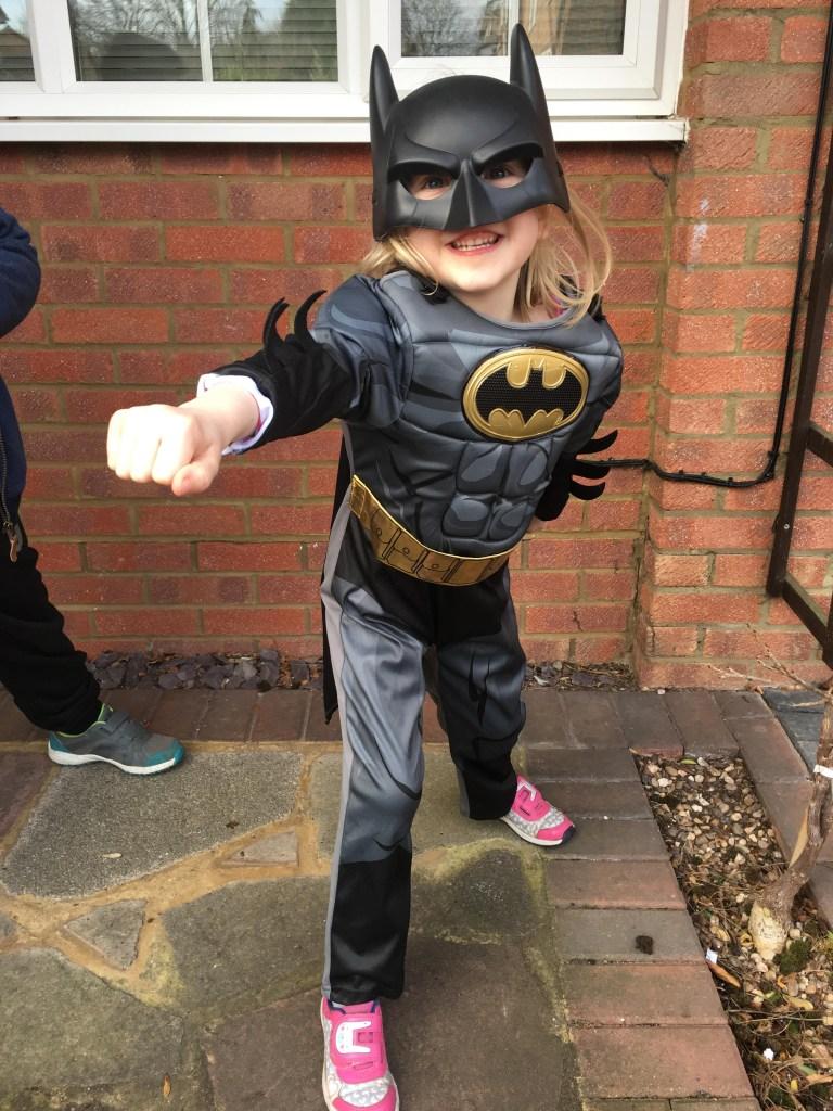 Batman World Book Day costume